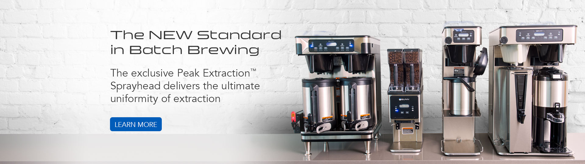The New Standard in Batch Brewing